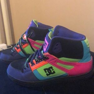 Rainbow DC High Tops